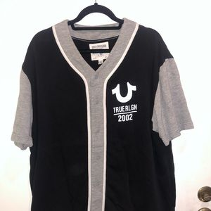 True Religon baseball jersey